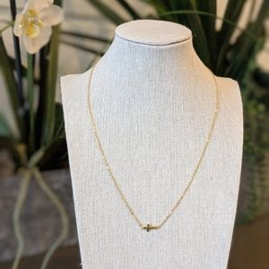 Jewelry - Gold Cross Necklace